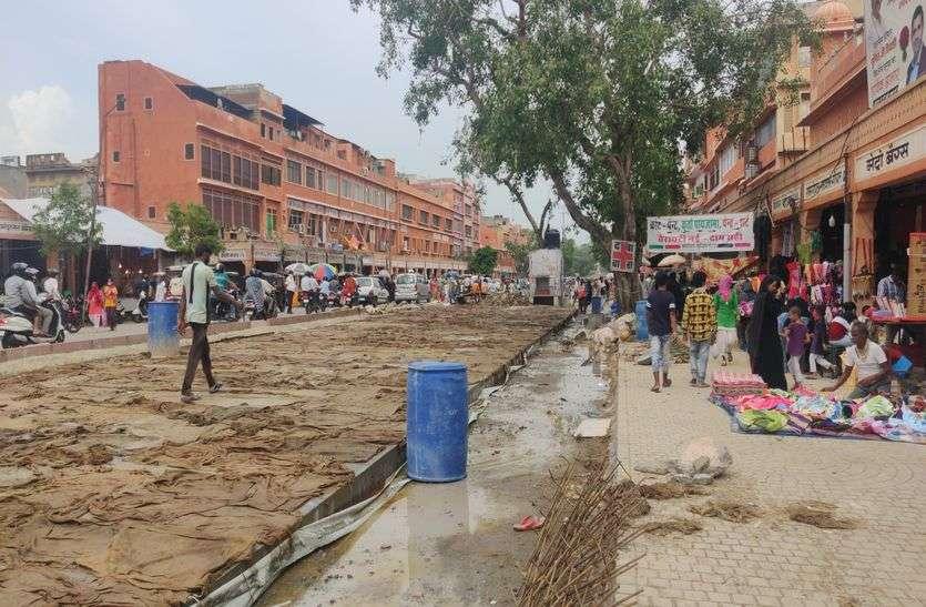 चांदपोल बाजार में अगस्त में मिलेगी स्मार्ट रोड की सौगात