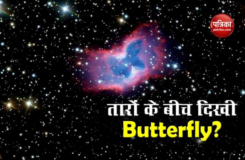 अंतरिक्ष में तारों के बीच दिखी Butterfly! Photo देख चौंके वैज्ञानिक