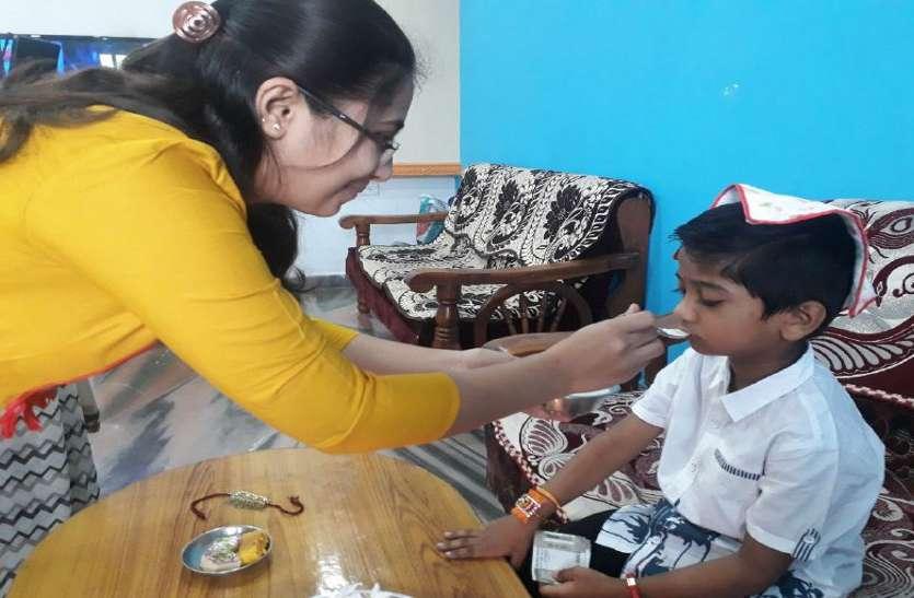 Raksha Bandhan 2020: घरों में खुशियों का माहौल, टोटल लॉकडाउन में मन रहा रक्षाबंधन पर्व