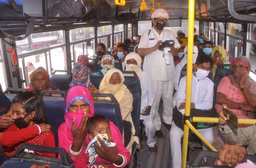 धार्मिक स्थलों के लिए सोमवार से चलेंगी 34 राजस्थान रोडवेज बसें