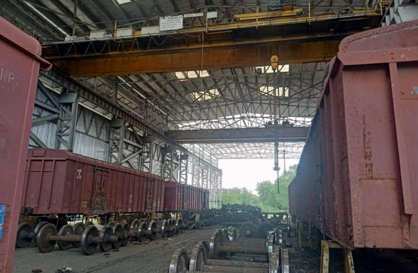 कोटा रेल मंडल ने वैगन रखरखाव में बना दिया रेकॉर्ड