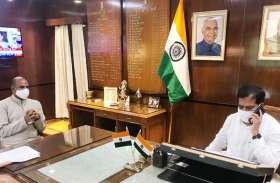 सांसद जोशी ने रेलवे अंडर पास में पानी भराव की समस्या से राज्य मंत्री को कराया अवगत