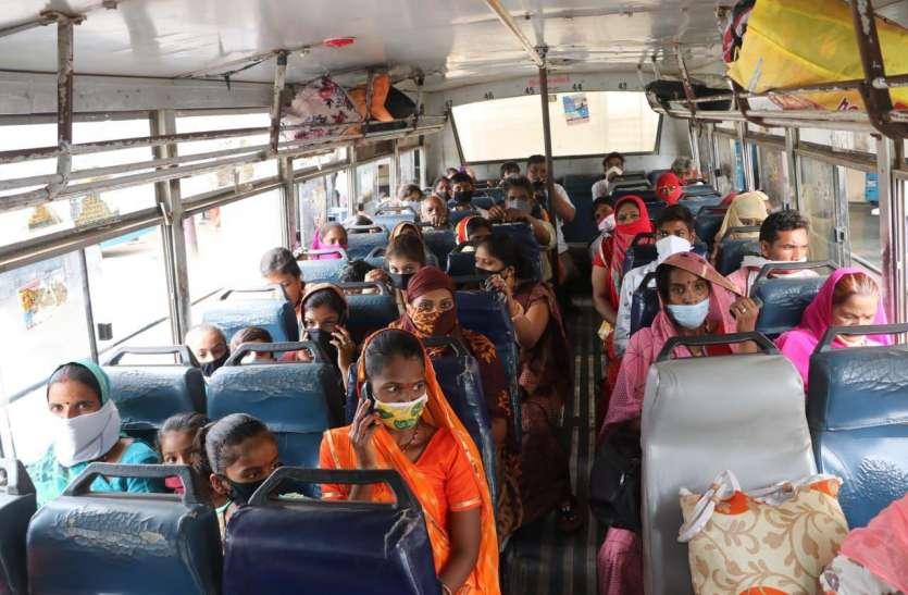 गुड न्यूज, राजस्थान में 100 प्रतिशत क्षमता के साथ कल से चलेंगी 1600 बसें