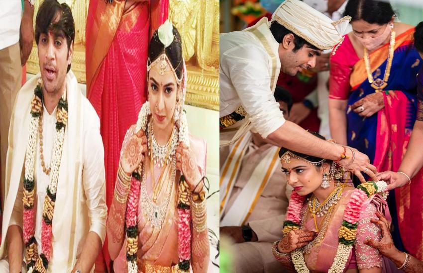 sahoo director sujeeth Reddy marriage pics goes viral