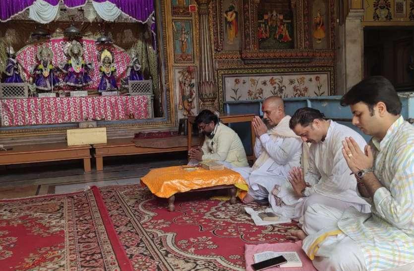 छोटी काशी में जय श्रीराम की गूंज, भूमि पूजन पर जश्न क माहौल