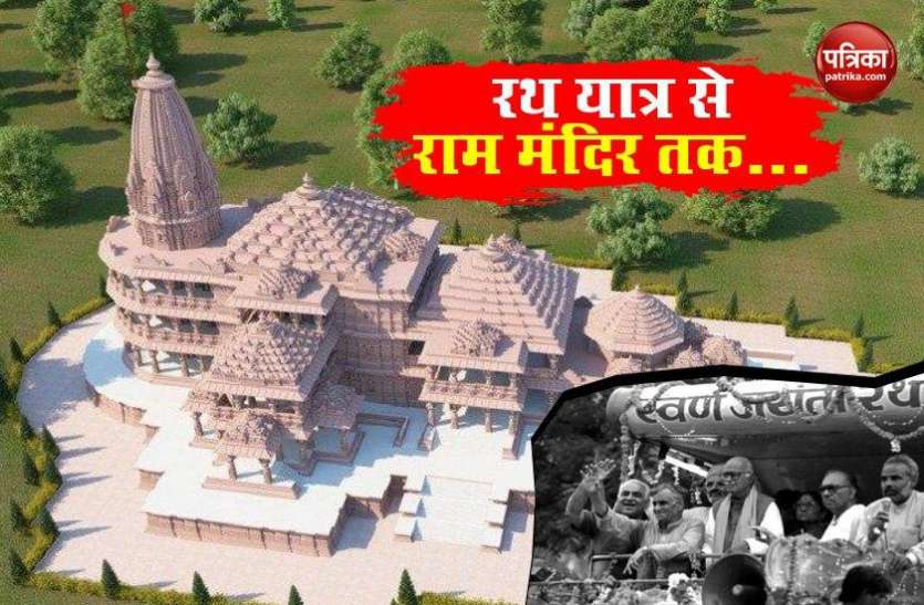 Ayodhya Ram Mandir Bhumi Pujan Latest Updates: Ram Mandir के सहारे BJP की कई गुना बढ़ी ताकत, 36 साल में 2 से 303 सासंदों की बनी पार्टी