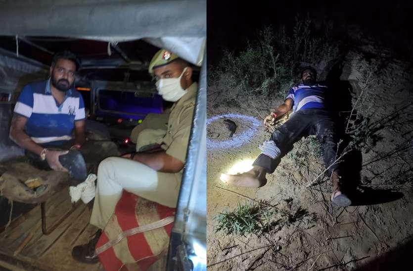 पुलिस से हुई मुठभेड़ में अनिल दुजाना व बिल्लू दुजाना गैंग का सक्रिय सदस्य बना पुलिस की गोली का शिकार