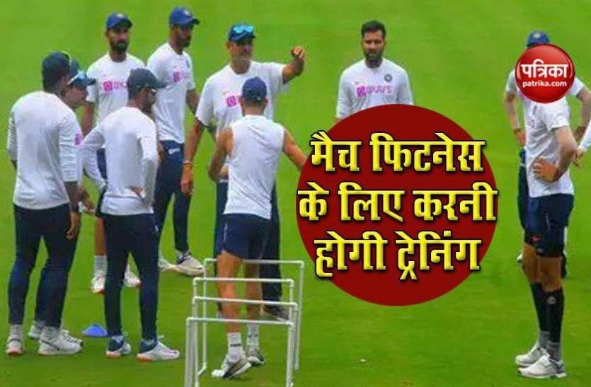 IPL 2020 : मैच फिट नहीं हैं भारतीय क्रिकेटर, UAE में चार चरण के अभ्यास से गुजर सकते हैं