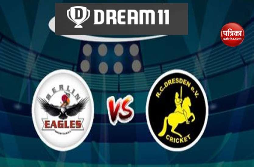 Dream11 Predictions: BECC vs RCD ECS Dresden T10 बेस्ट ड्रीम 11 टीम