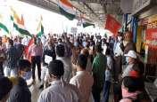 लाइन बॉक्स : रेलवे स्टेशन पर जोरदार प्रदर्शन, देखें VIDEO