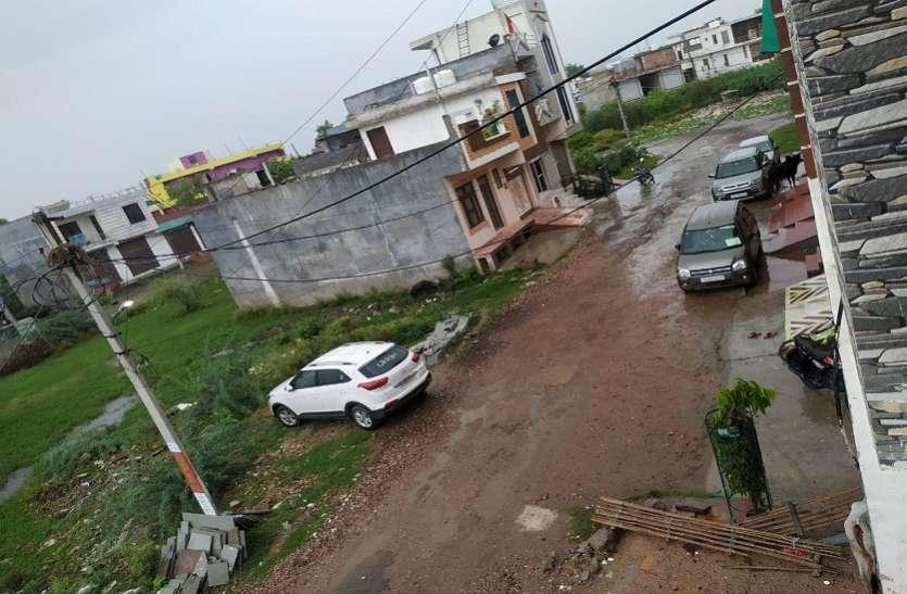 कोटा में भी मूसलाधार बारिश, आकाशीय बिजली गिरने से 13 भैसों की मौत