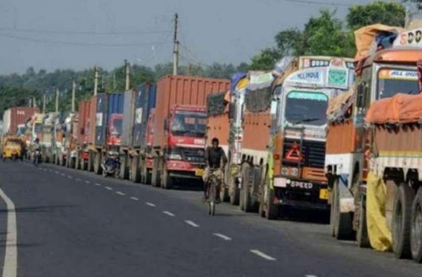 Transporters ने सरकार पर लगाया उपेक्षा का आरोप, चले गए हड़ताल पर