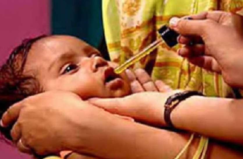 पोषण माह के तहत अब तक 7 हजार बच्चों ने पी विटामिन ए की खुराक, 5 लाख का लक्ष्य