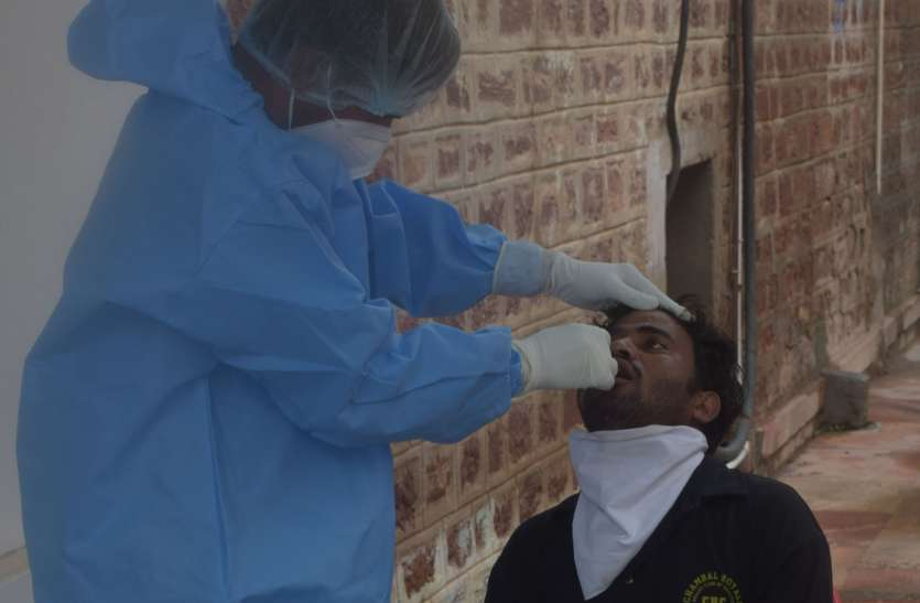 जिले में लगातार दूसरे दिन भी जारी रहा कोरोना का कहर, निकले 70 मरीज
