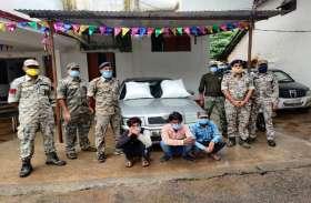 ढोलक में गांजे की तस्करी करते केशकाल पुलिस ने 24 किलो गांजे के साथ 3 को दबोचा