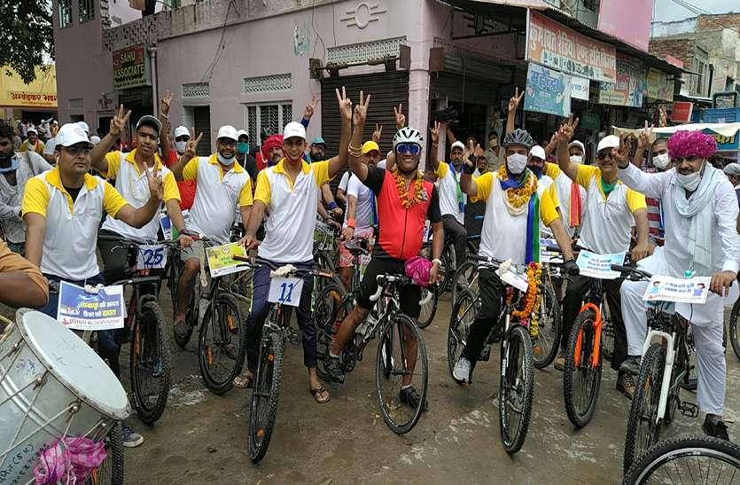 स्वस्थ जीवन के लिए प्रकृति का सान्निध्य व साइकिलिंग जरूरी