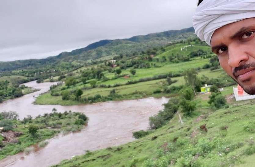 उदयपुर जिले की सबसे बड़ी नदी सोम उफान पर, बरोठी डेम छलका