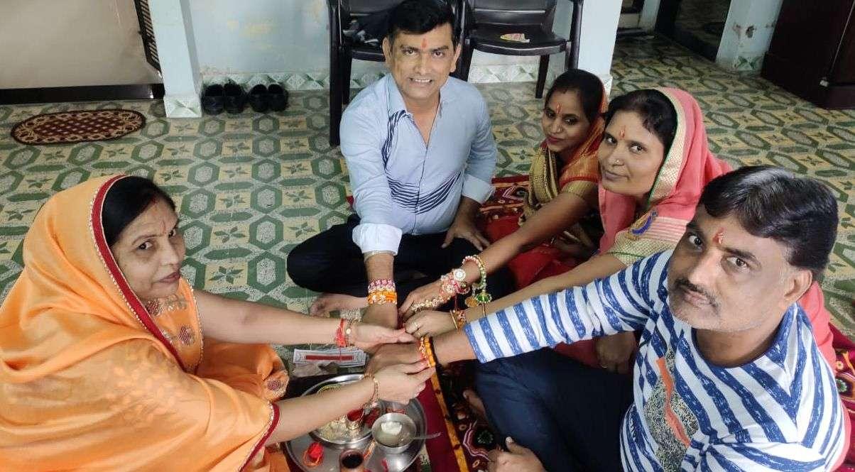 PARV: ऋषि पंचमी मनाए, घर जाकर राखी बंधवाए