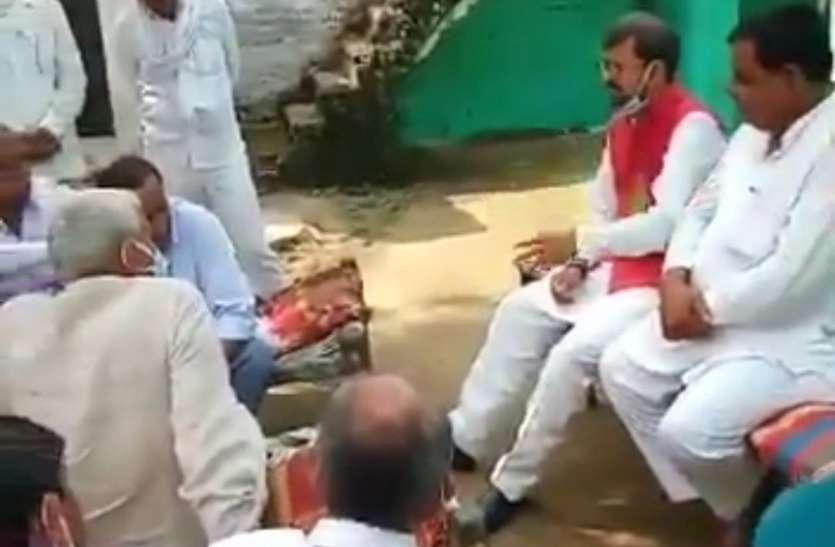 परिवहन मंत्री के बिगड़े बाेल, भरी पंचायत में मंत्रियों के पद काे लेकर कर दी टिप्पणी, देखें वीडियो