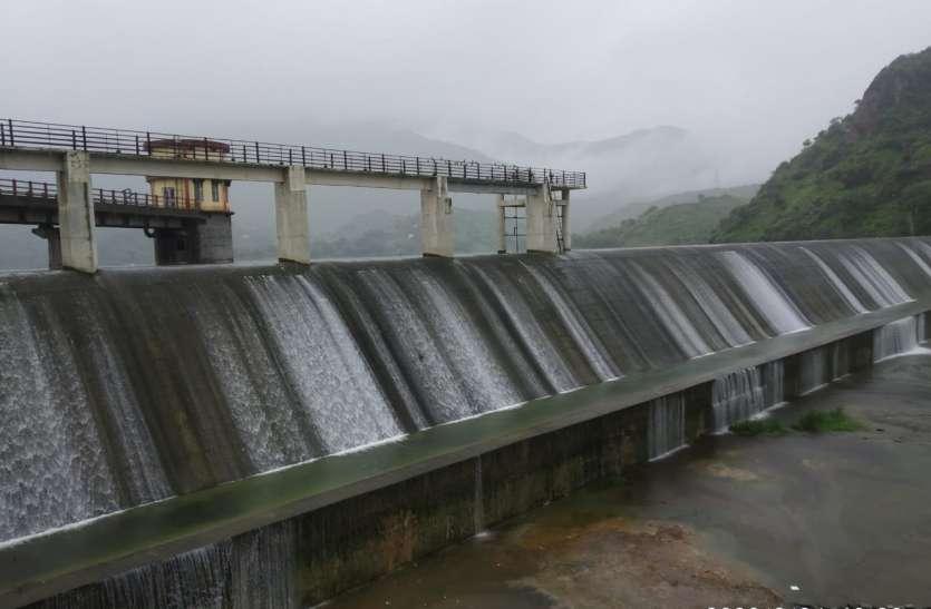 राजसमंद में ३ इंच बारिश
