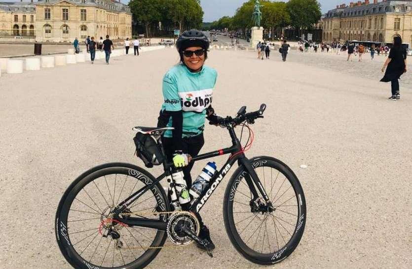 55 की उम्र में भी साइक्लिंग के जूनून से देश-विदेश में बनाई पहचान