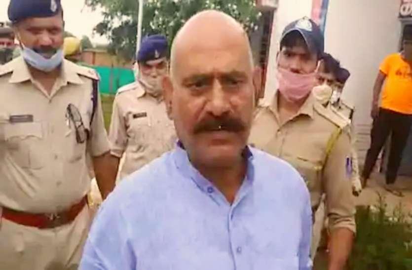 बाहुबली विधायक विजय मिश्रा को जेल भेजवाने वाले रिश्तेदार के घर धमकी महाराष्ट्र पुलिस
