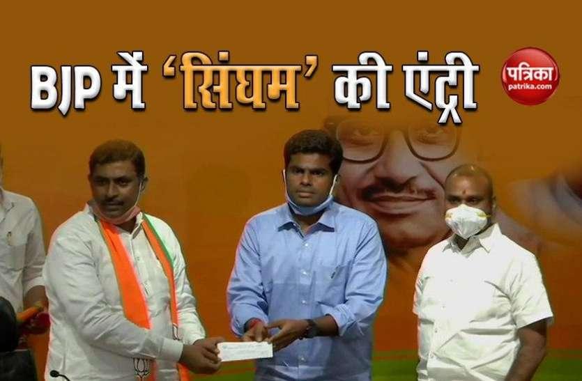 Corona संकट के बीच भाजपा में खुशी की लहर, दिग्गज पूर्व IPS अधिकारी BJP में शामिल