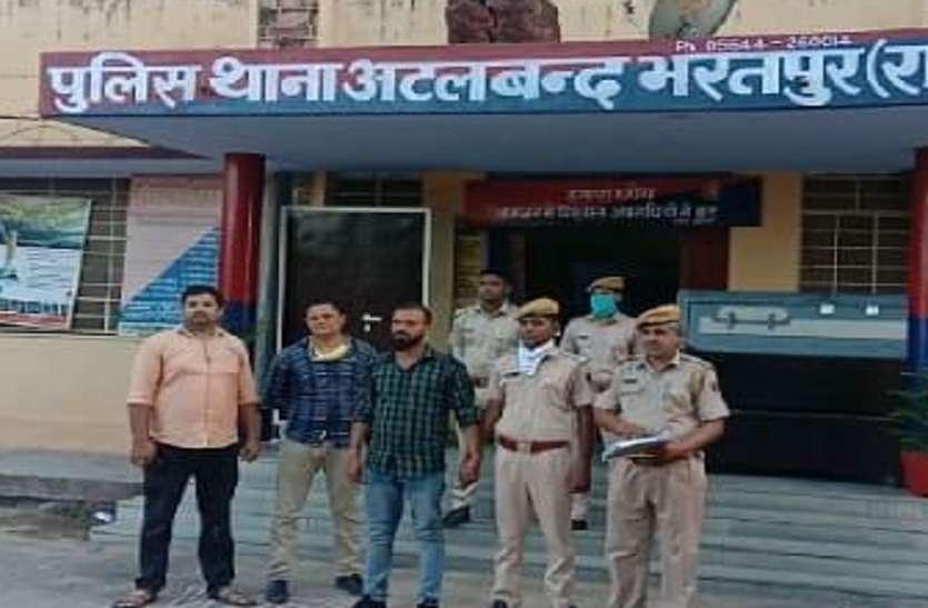 हत्या के लिए पत्नी ने भेजा शॉर्पशूटर, पुलिस ने पकड़ा