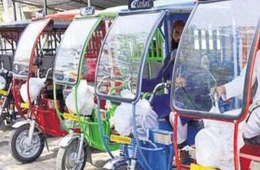 ई-रिक्शा चालकों को स्थाई लाइसेंस का इंतजार !