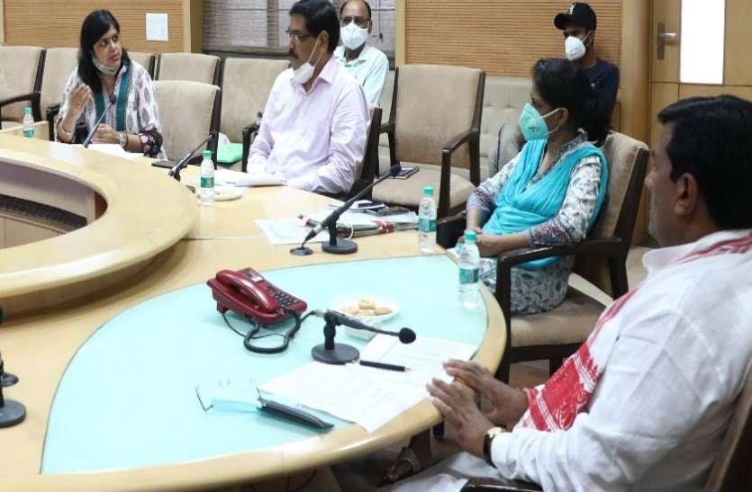 मंत्री ने कहा- स्थानीय किसानों की मांग के अनुसार योजनाओं में लक्ष्य निर्धारित करें