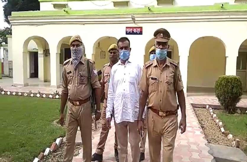 खनन माफियाओं पर कसता जा रहा है पुलिस का शिकंजा, पुलिस की गिरफ्त में आया कुख्यात खनन माफिया