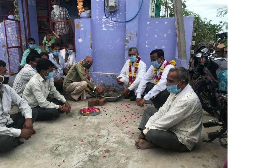 कौमी एकता की मिसाल बनेगा मंदिर