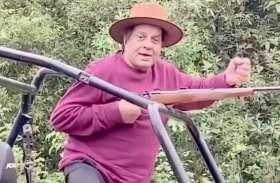 84 की उम्र में Dharmendra ने चलाई सरेआम गोलियां, बोले-जिंदगी यही है, मर्दों की तरह जियो, देखें Video