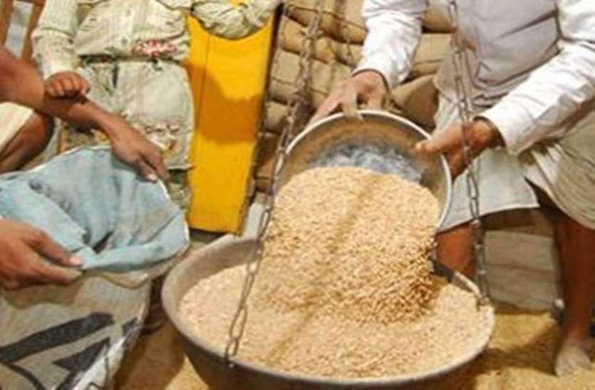 राष्ट्रीय खाद्य सुरक्षा योजना का गेहूं उठाने वाले सरकारी कर्मचारियों से वसूले 35 लाख रूपए