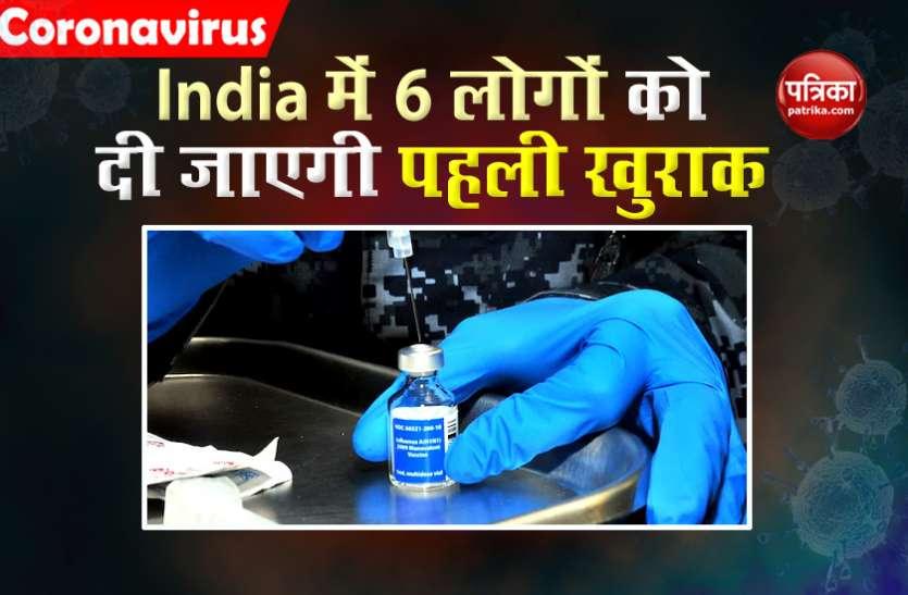 Oxford Vaccine : भारत में सेकेंड फेज का ट्रायल शुरू, आज 6 लोगों को दी जाएगी कोविशील्ड की पहली खुराक