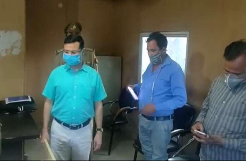 Noida: अपर पुलिस आयुक्त ने किया थाने का औचक निरीक्षण, व्यवस्था देख हुए खुश