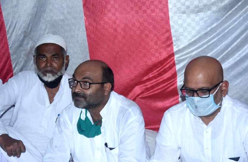 बुनकरों के आयोजन में जाने पर वाराणसी में अजय कुमार लल्लू व 100 से अधिक अज्ञात पर मुकदमा