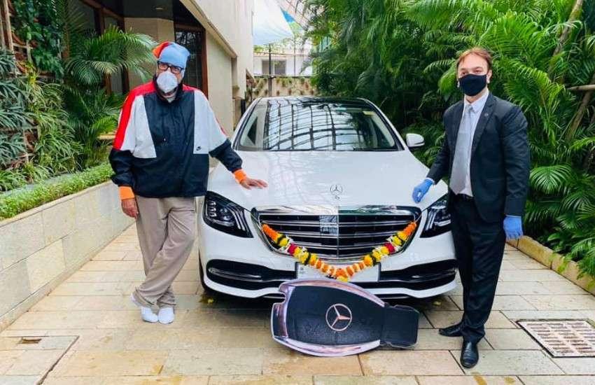 Amitabh Bachchan ने खरीदी नई लग्जरी Mercedes कार, कीमत करोड़ों में