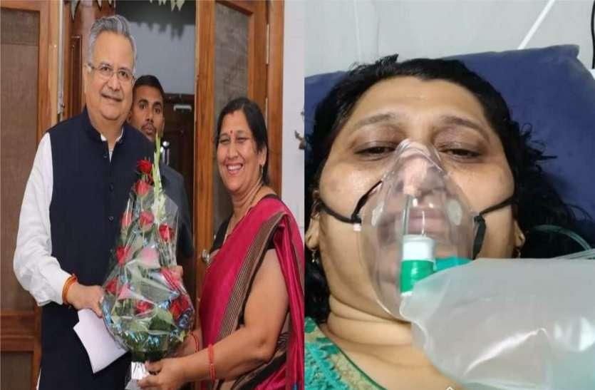 डॉ. रमन सिंह ने किया था राजनांदगांव की पूर्व मेयर शोभा का कन्यादान, कोरोना से जंग हार गई गांव की नोनी