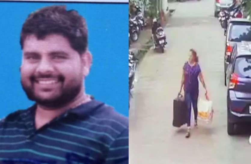 लखनऊः मारे गए हिस्ट्रीशीटर के घर से निकली महिला, दोनों हाथों में था यह
