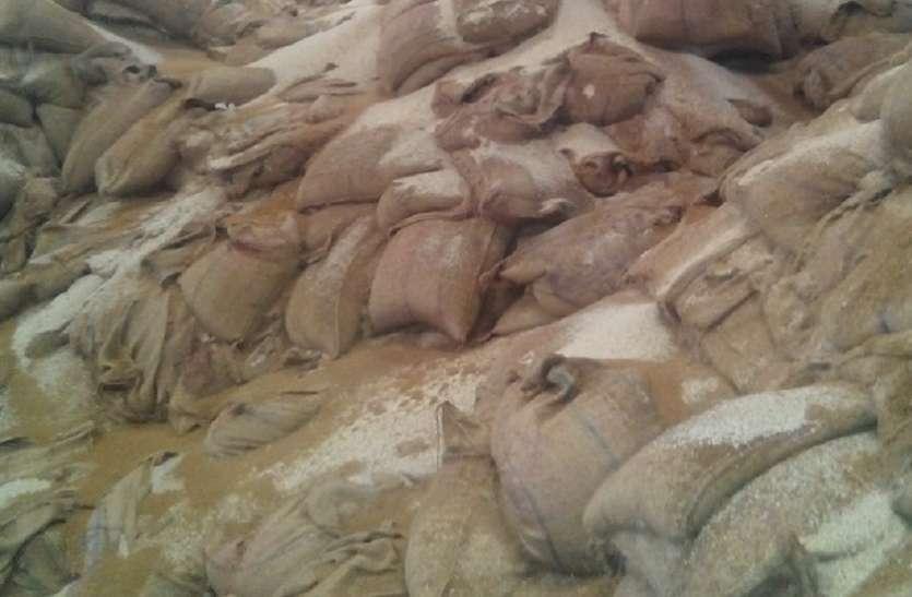 अमानक चावल सप्लाई मामले की जांच करने पहुंची ईओडब्ल्यू की टीम