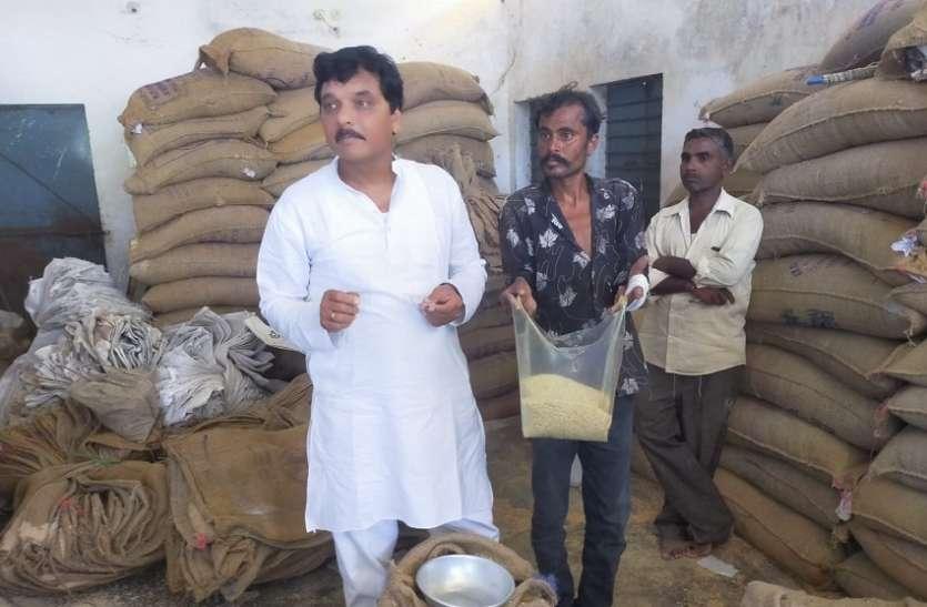 सरकार की रोक के बाद भी पीडीएस से बांटा जा रहा है अमानक चावल
