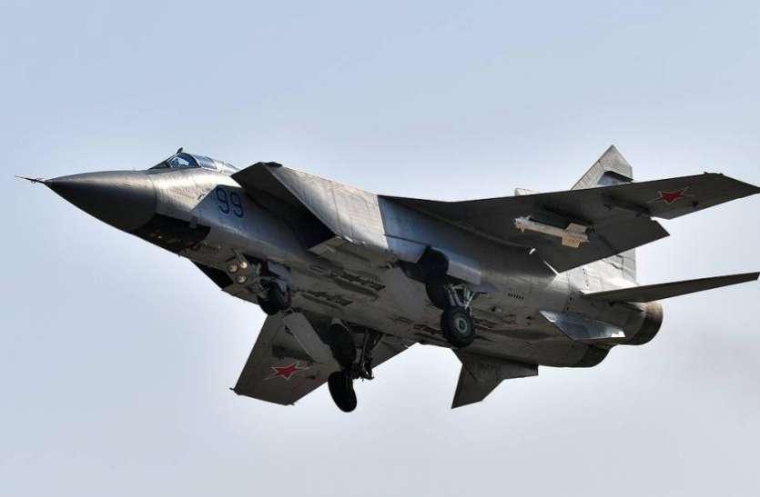 Russian MiG-31 Jet ने बैरेंट समुद्र के ऊपर दो अमरीकी और ब्रिटिश विमान को रोका