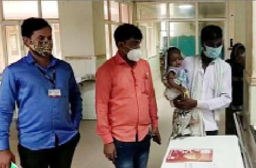 ब्लड कैंसर से जूझ रहे मासूम का जयपुर में शुरू हुआ इलाज