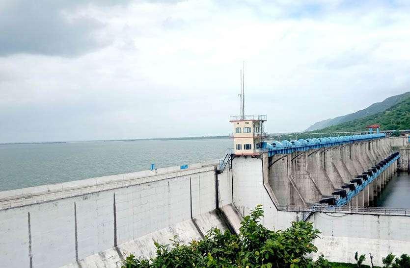 बीसलपुर बांध का गेज हुआ 313.39 आरएल मीटर, त्रिवेणी भी चल रही 1.40 मीटर पर