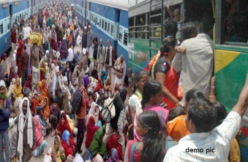 train-bus start today: आज से शुरू हो गईं ट्रेनें, बस मालिक माने तो अब ड्राइवरों ने कर दी हड़ताल, यात्री हुए परेशान