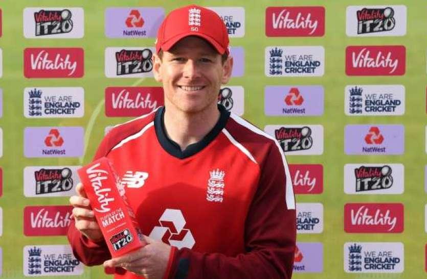 Eoin morgan ने टी-20 में बनाया रिकॉर्ड, बतौर कप्तान 50 मैच खेलने वाले तीसरे खिलाड़ी बने