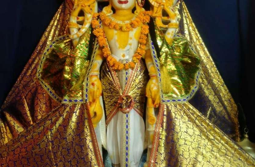 डिग्गी कल्याण निज मंदिर में श्रद्धालुओं के प्रवेश पर रहेगी रोक , गरूड चौक में खड़े होकर कर सकेगें श्रीजी के दर्शन