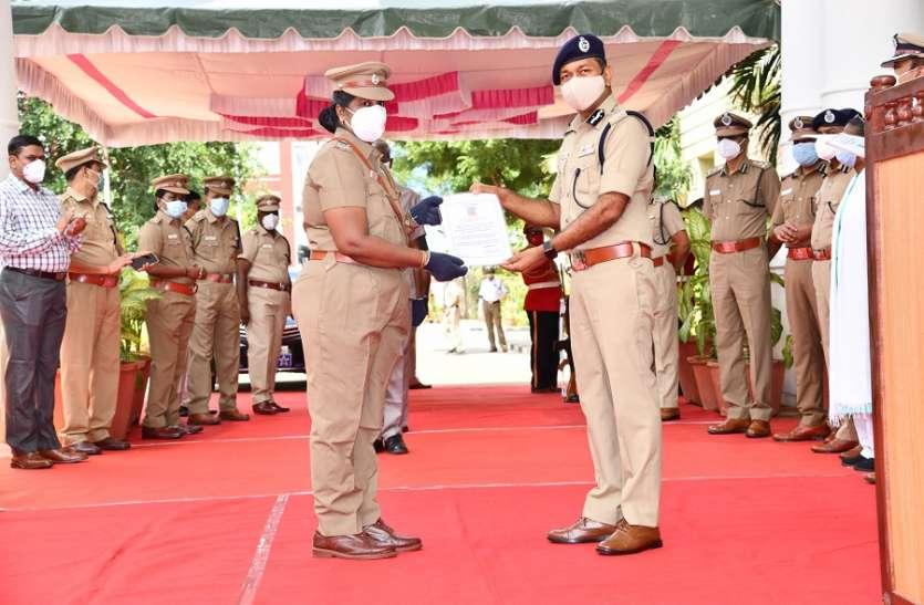 चेन्नई में आईपीएस अधिकारी सहित 19 पुलिसकर्मियों ने जीती कोरोना से जंग, काम पर लौटे