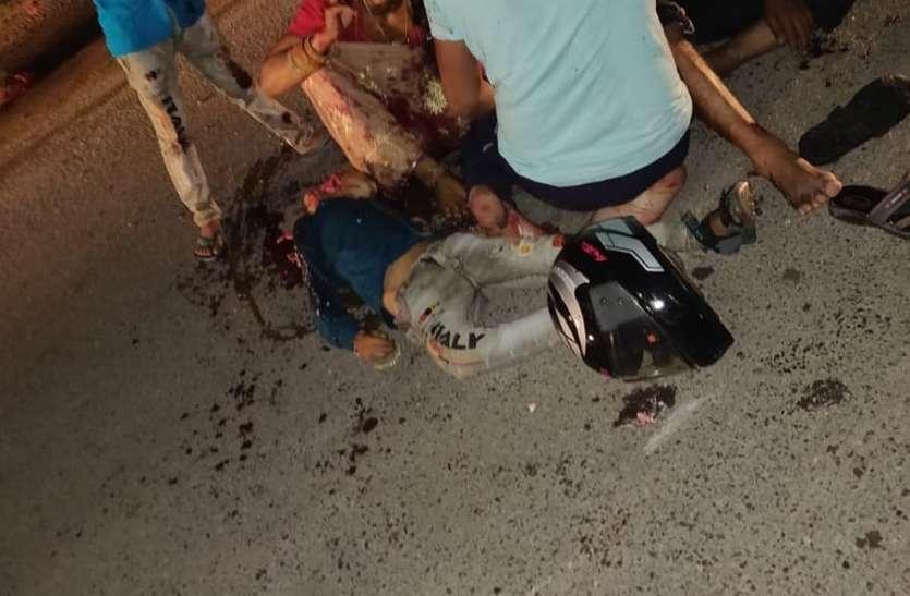 ट्रक की चपेट से मासूम बालक की मृत्यु